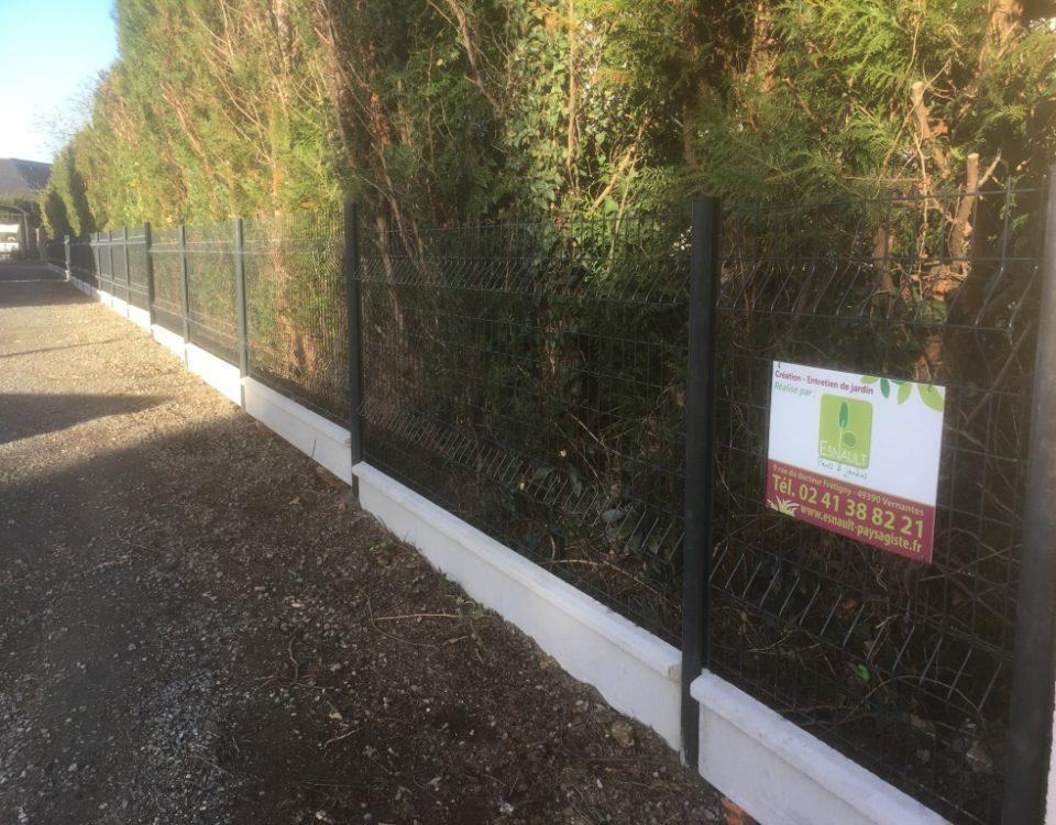 Clôture Esnault Paysagiste à Saumur