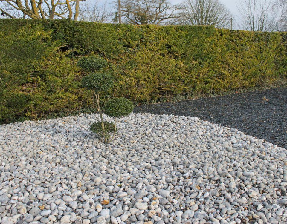 Photo création de plantes et pierres couleurs Esnault Paysagiste à Saumur